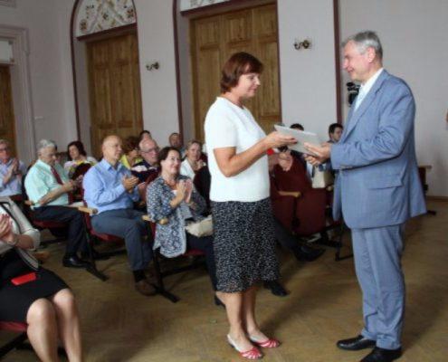 Direktore Ruta Krūkle apbalvota ar IZM Pateicības rakstu