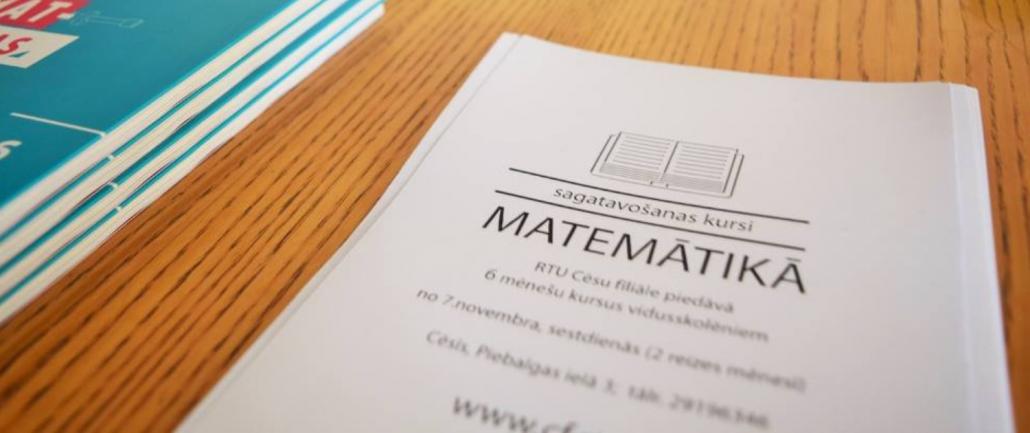 sagatavošanas kursi matemātikas