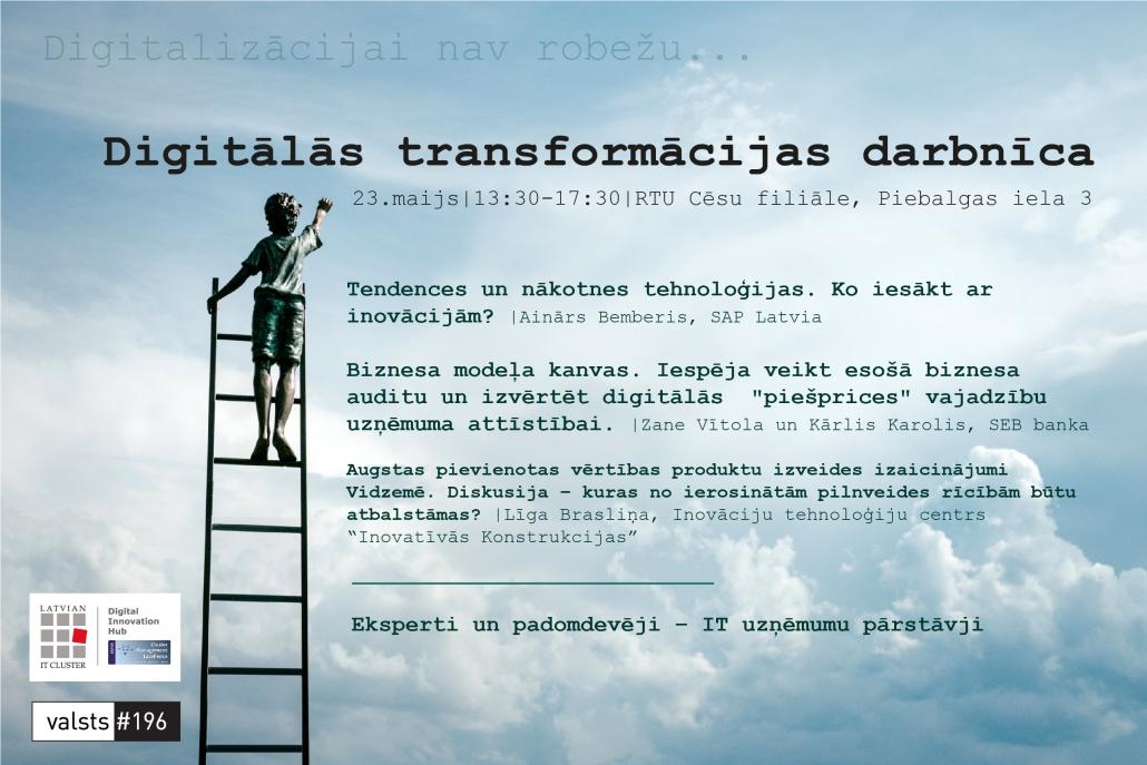 Digitālās transformācijas darbnīca