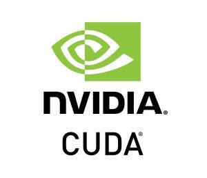 NVIDIA CUDA programmatura logo